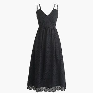 J. Crew Eyelet Dress